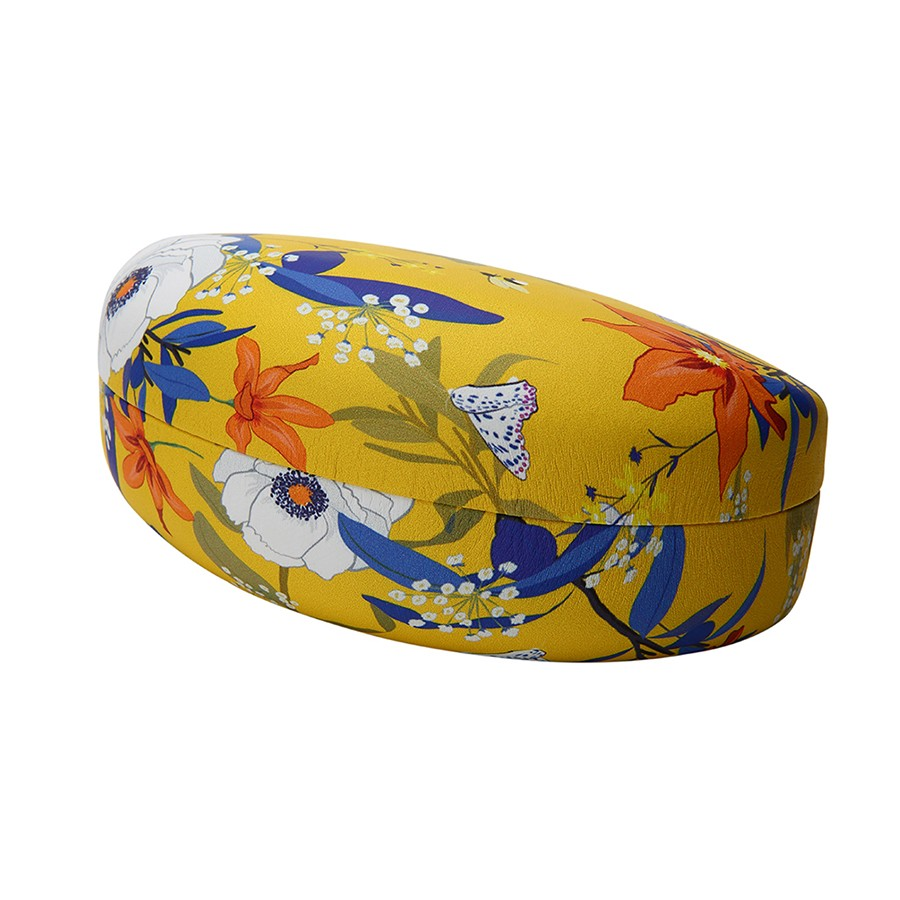 FLORAL PRINT CLAMSHELL CASE