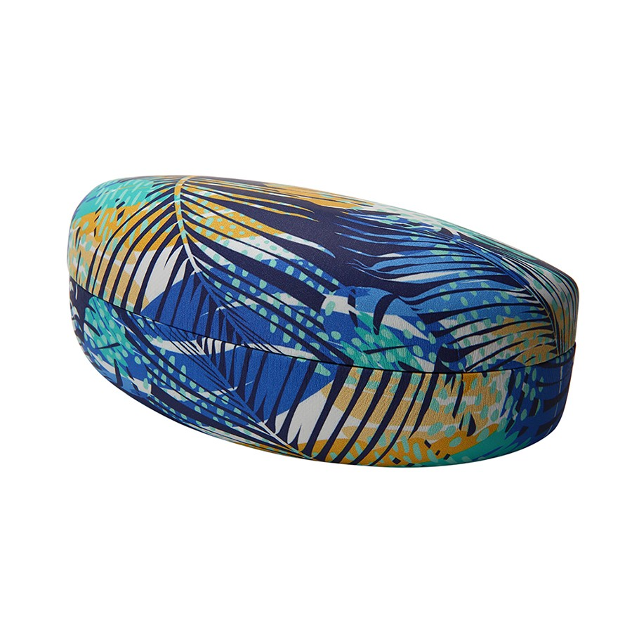 TROPICALTREE PRINT CLAMSHELL CASE